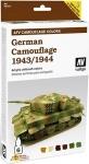 VALLEJO GERMAN CAMOUFLAGE 1943/1944 #78414