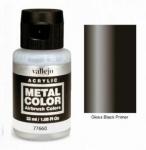 VALLEJO METAL COLOR GLOSS BLACK PRIMER  35ml #77.760