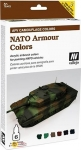 VALLEJO NATO ARMOUR COLOURS #48413