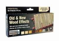 VALLEJO OLD & NEW WOOD EFFECTS #71.187