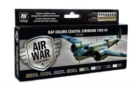 VALLEJO RAF Colors Coastal Command 1939-1945 #71148