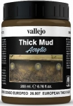 VALLEJO THICK MUD (EUROPEAN THICK MUD) #26.807