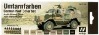 VALLEJO UMTARNFARBEN GERMAN ISAF COLOUR SET #71.159