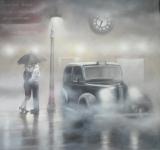 7 O'clock Departure - Tim Shorten - Original Painting - *SOLD*