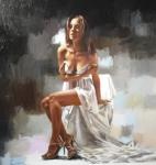 A Satin Slip - Charlotte Greene