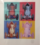 After Andy Warhol - Mercedes-Benz Formel-1-Rennwagen W125 - Serigraph