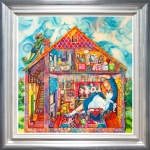 Alice in William Rabbits House - Kerry Darlington *SOLD*