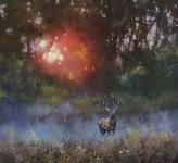 Allan Morgan  - Evening Glow - Original