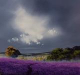 Allan Morgan - Lavender Hamlet - Original *SOLD*