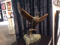 Allen Hallett - Fish Eagle - Sculpture