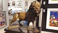 Allen Hallett - Lion  - Bronze Sculpture