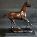 Amanda Hughes Lubeck - Running Free - Sculpture