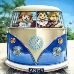 Andy & Friends: HolidayDrive by Alberto Martinez