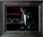 Black Suit Red Wine - Fabian Perez