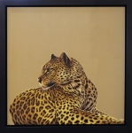 Darryn Eggleton - Leopard (Framed) WAS £750, NOW £250