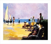 David Farrant  - Beach Life - Limited Edition WAS £345, NOW £199 (Mount Only)