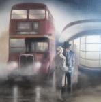 Don't Go - Tim Shorten - Framed Original *SOLD*