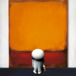Doug Hyde - Rothko's Brushstrokes of Genius  -  SOLD