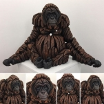 Edge Sculpture by Matt Buckley - Orangutan - Limited Edition