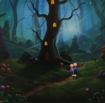 Fairytale Love - Scott Bateman - Original  SOLD