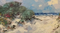 Frank Getty - Sand Dunes I - Original SOLD