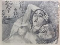 Henry Matisse - Le repos du modele - Original Lithograph