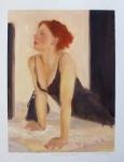 Janet Treby - Saturday Night  - WAS £325, NOW £95 (Framed)