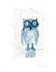 La Chouette Bleu - Salvador Dali