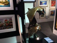 Llewellyn Davies - Manta Rays - Sculpture  SOLD