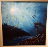 Matthew James - 3 Dolphins - Original