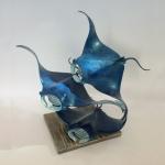 Nicholas Pain - Manta Rays - Sculpture