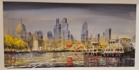 Nigel Cooke - London Skyline Original