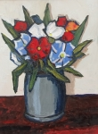 Red and Blue - David Barnes - Original