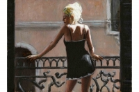 Sally in San Telmo - Fabian Perez