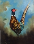 Simon Wright - Strutting Your Stuff - Framed Original SOLD