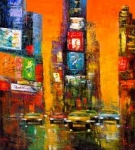 Sunset on 7th - Madjid WAS £395, NOW £250 (Unframed)