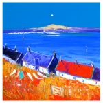 Washing Line Back of Arinagour Isle of Coll - John Lowrie Morrison