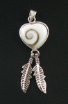 Silver Shiva Shell - Cats Whiskers Silver Jewellery