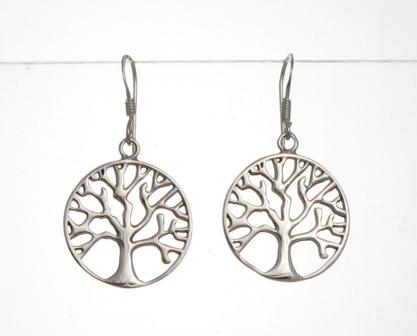 E110 Tree Of Life Earrings