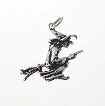 P338 witch pendant silver pendants fantasy gothic cats whiskers p338 witch pendant aloadofball Gallery