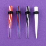 5mm Straight  Acyrlic Taper