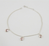 A2 Love heart anklet