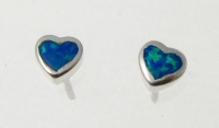 BFOS22 Heart earrings