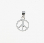 CM18 Peace sign charm