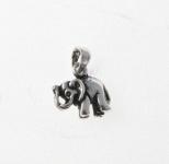 CM2 Silver Elephant Charm