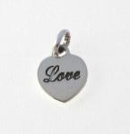 CM55 Love heart charm
