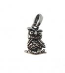 CM63 Silver owl charm