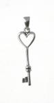 CM64 Key Heart Charm