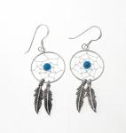 E103t Dreamcatcher earrings
