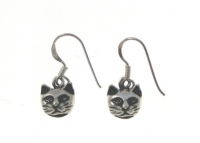 E128 Cat Earrings